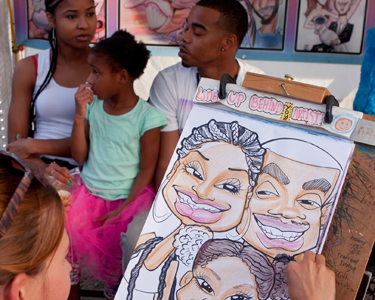 Kids Raleigh: Caricature Artists - Fun 4 Raleigh Kids