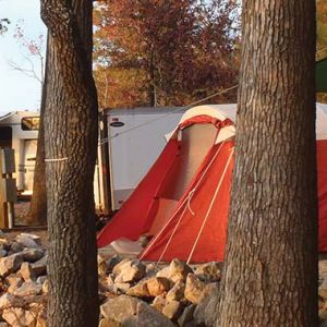 Kerr Lake State Recreation Area Camping