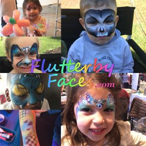 Flutterby Faces