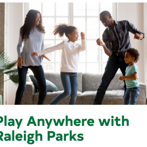 Raleigh Parks: Play Anywhere