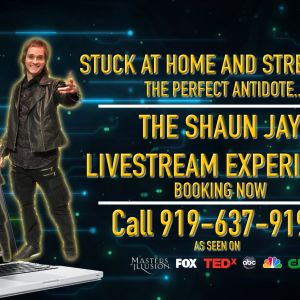Shaun Jay's Always Amazing Magic Virtual Shows